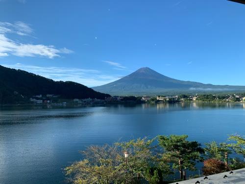 河口湖からの富士山③