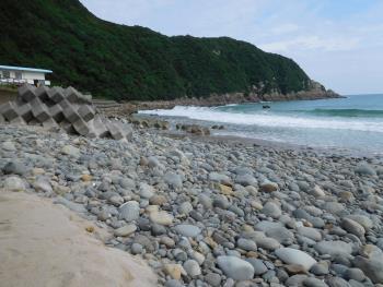 海の日浜掃除!