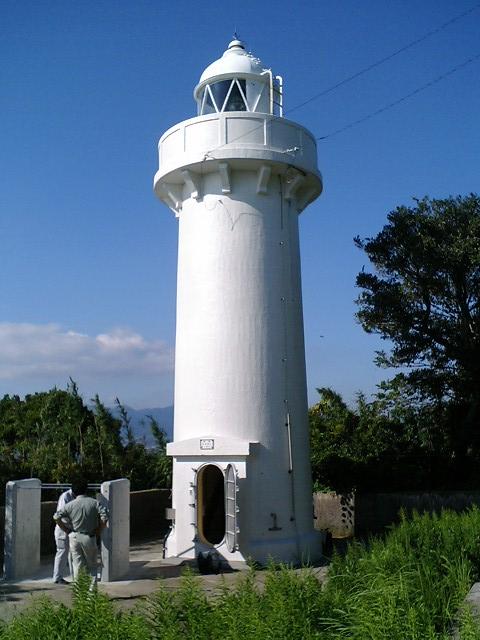 湯島灯台(ゆしまとうだい・上天草市大矢野町)